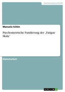 psychometrische fundierung der fatigue skala pdf