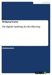 die digitale spaltung der bevolkerung pdf