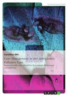 case management in der ambulanten palliative care pdf