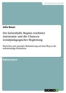 der krisenhafte beginn ersehnter autonomie und die chancen sozialpadagogischer begleitung pdf