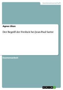 der begriff der freiheit bei jean paul sartre pdf