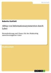 abbau von informationsasymmetrien durch label pdf