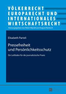 pressefreiheit und persoenlichkeitsschutz pdf