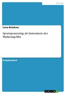 sportsponsoring als instrument des marketing mix