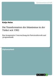 die transformation des islamismus in der turkei seit 1983 pdf