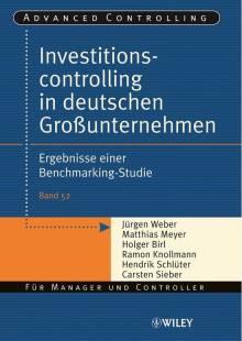 investitionscontrolling in deutschen grossunternehmen pdf