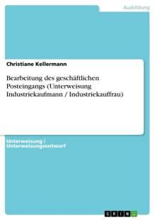 bearbeitung des geschaftlichen posteingangs pdf