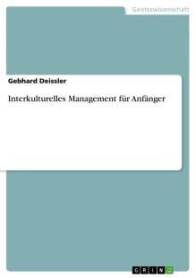 interkulturelles management fur anfanger pdf