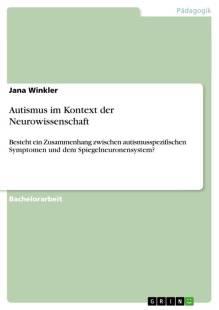 autismus im kontext der neurowissenschaft pdf