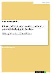 effektives eventmarketing fur die deutsche automobilindustrie in russland pdf
