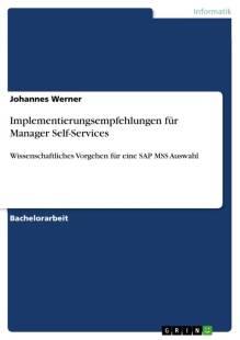implementierungsempfehlungen fur manager self services pdf