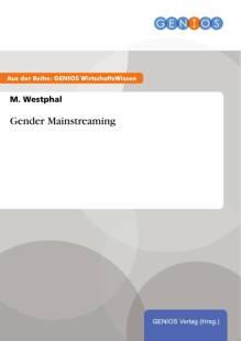 gender mainstreaming pdf