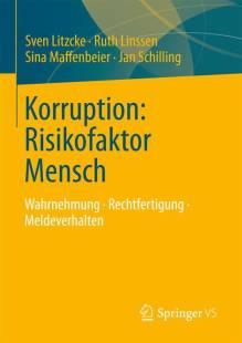 korruption risikofaktor mensch pdf