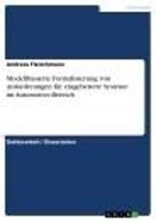 modellbasierte formalisierung von anforderungen fur eingebettete systeme im automotive bereich pdf