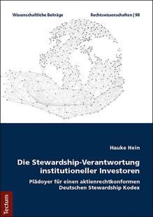 die stewardship verantwortung institutioneller investoren pdf