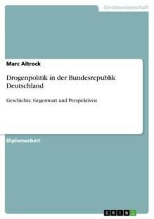 drogenpolitik in der bundesrepublik deutschland pdf