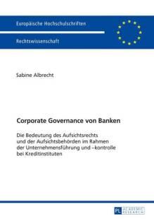 corporate governance von banken pdf