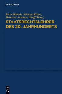 staatsrechtslehrer des 20 jahrhunderts pdf