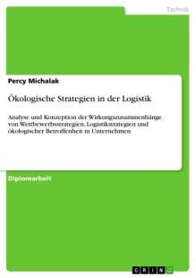 okologische strategien in der logistik pdf
