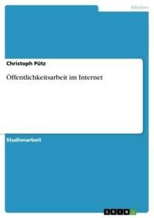 offentlichkeitsarbeit im internet pdf
