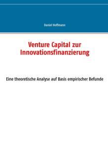venture capital zur innovationsfinanzierung pdf