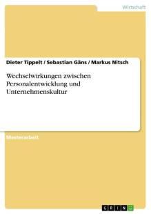 wechselwirkungen zwischen personalentwicklung und unternehmenskultur pdf