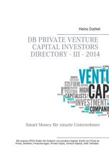 db private venture capital investors directory iii 2014 pdf