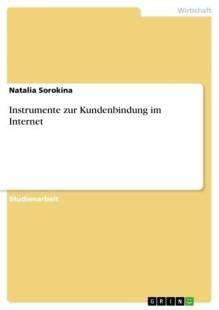 instrumente zur kundenbindung im internet pdf