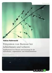 pravention von burnout bei lehrerinnen und lehrern pdf