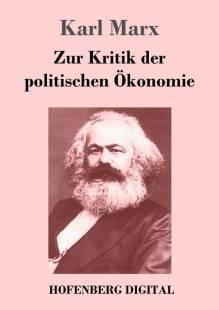 zur kritik der politischen okonomie pdf