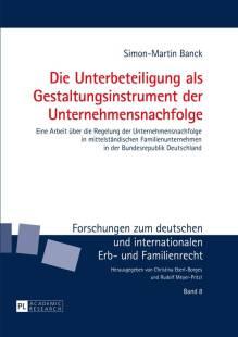 die unterbeteiligung als gestaltungsinstrument der unternehmensnachfolge pdf