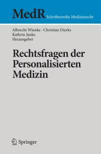 rechtsfragen der personalisierten medizin pdf