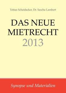 das neue mietrecht 2013 pdf