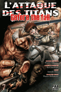 l attaque des titans before the fall t07