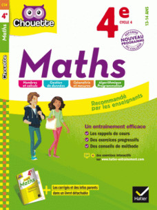 maths 4e nouveau programme pdf