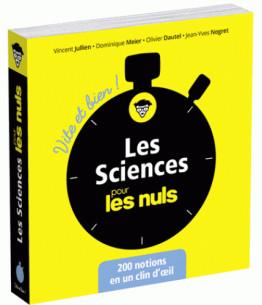 les sciences pour les nuls vite et bien pdf