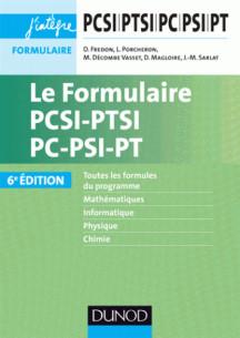 le formulaire pcsi ptsi pc psi pt 6e ed pdf