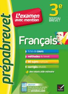 francais 3e prepabrevet l examen avec mention fiches methodes et sujets de brevet pdf