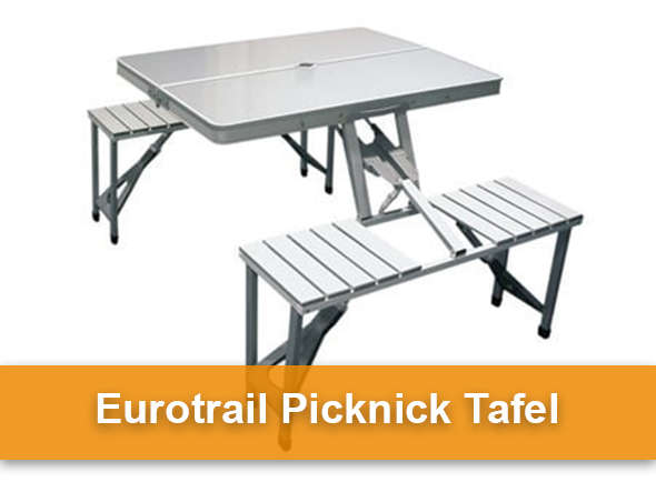 eurotrail picknicktafel