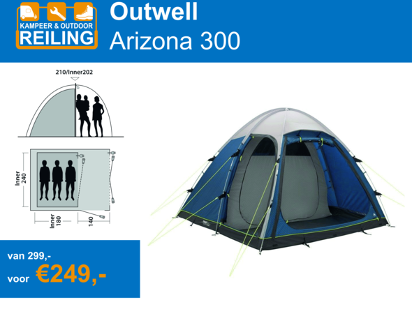 Outwell Arizona 300