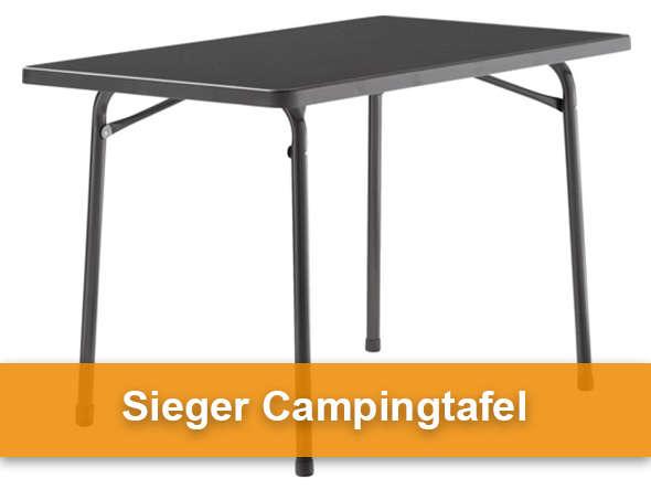 sieger campingtafel