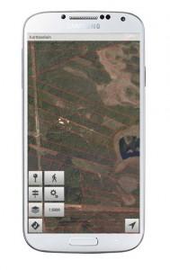 Karttaselain Samsung Galaxy S4:ssä