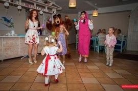 Увлекательные конкурсы с Машей и медведем в детском саде Канарейка
