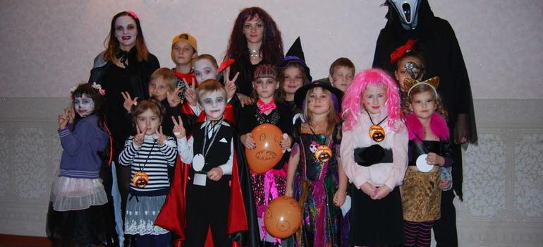 Вампирша и дети