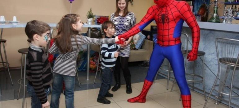 Маленькие супергерои!