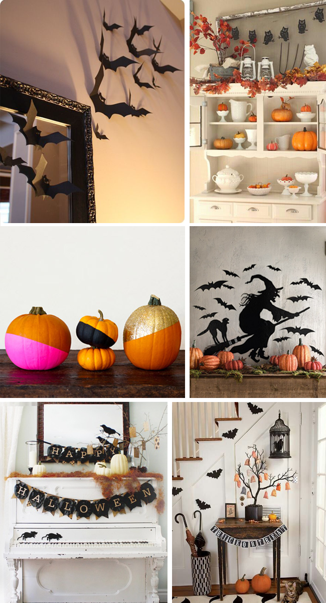 idee deco halloween diy. Black Bedroom Furniture Sets. Home Design Ideas