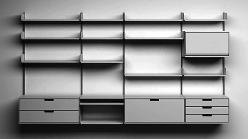 #MeublesDesign: 606 Système d'étagères modulaires Shelving System de Dieter Rams