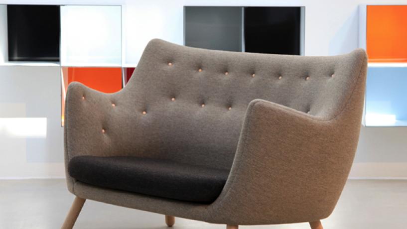 #MeublesDesign: Canapé Poet de Finn Juhl