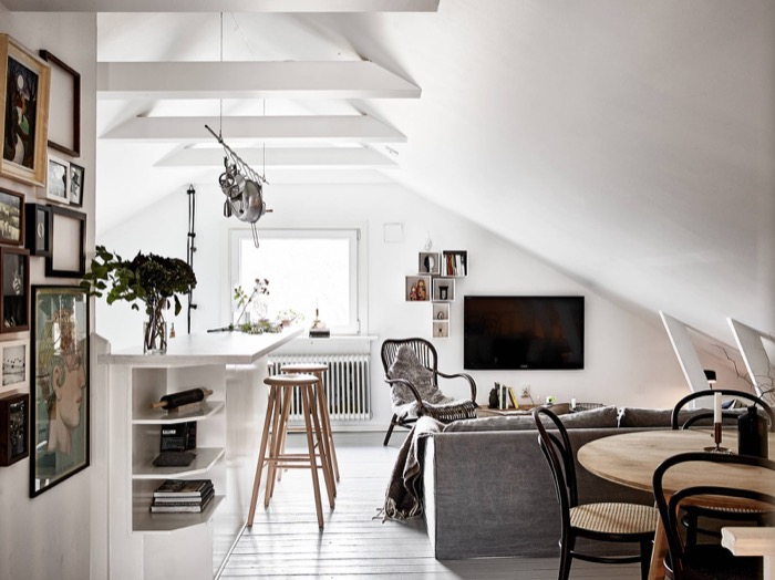 Appartement Rock chic Scandinave