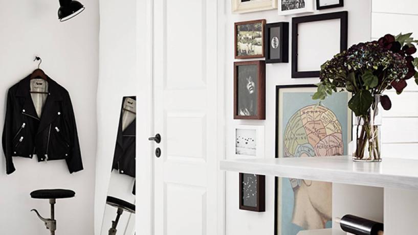 Inspiration du jour... Un appartement à l'esprit Rock chic
